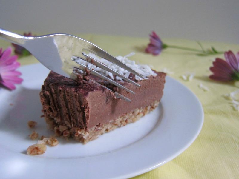 raw chocolate vegan mousse cake recipe