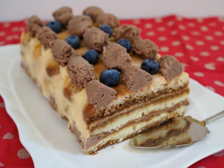 nutella tiramisu, dessert, recipe, easy,