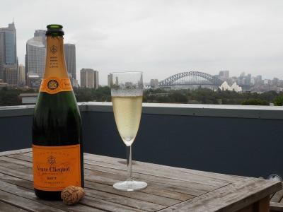 rooftop, sydney, champagne, sydney harbour bridge