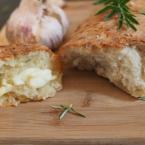 easy bread recipe, garlic bread, no-knead bread, artisan, recipe, five minutes