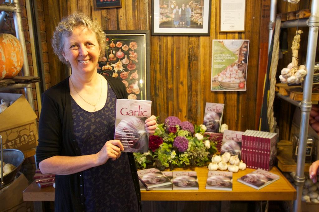 Penny woodward, garlic, book, growing garlic, organic garlic, australian garlic,