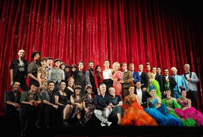 strictly ballroom the musical, strictly ballroom, baz luhrmann, cast photo