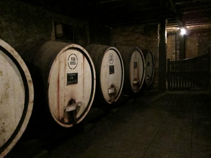 tahbilk, wine cellar, underground, first wine tasting