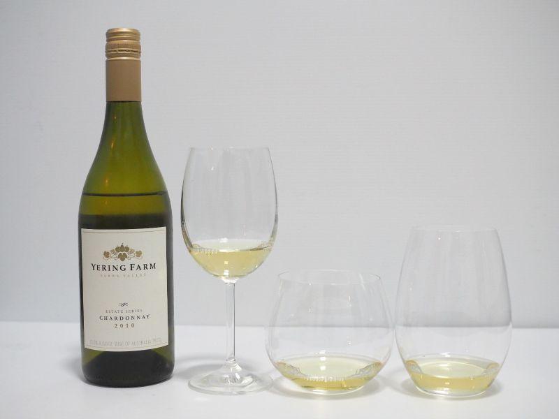 wine glass affect taste, shape, riddle, wine glass, your home depot, yering farm, chardonnay, yarra valley